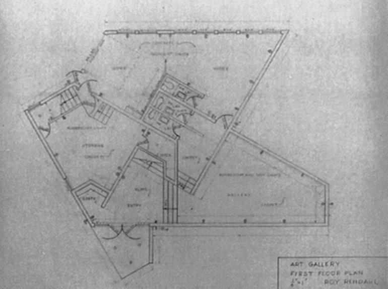 Unique Design Lab Gallery : Art Studio & Garage - Floor Plan