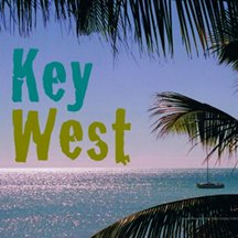 Key West with boat from the West Martello Tower & Garden Club