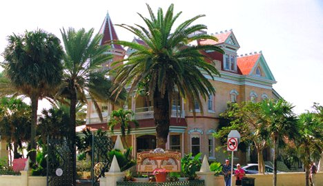 Southernmost House B&B in Key West - photo by Roy Rendahl