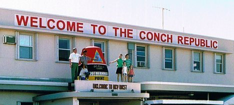 Welcome to the Conch Republic - Key West International Airport - photo by Roy Rendahl